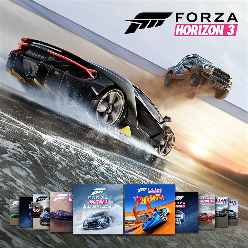 buy forza horizon 3 platinum online pc and download. Black Bedroom Furniture Sets. Home Design Ideas