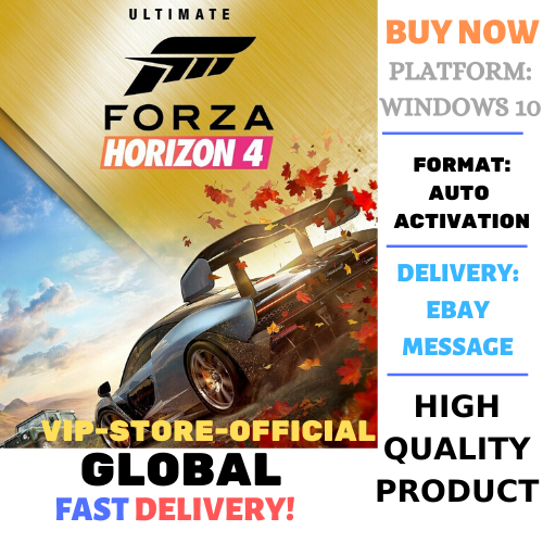 FORZA HORIZON 4 Ultimate+Autoactivation+ONLINE+ACOUNT🔴