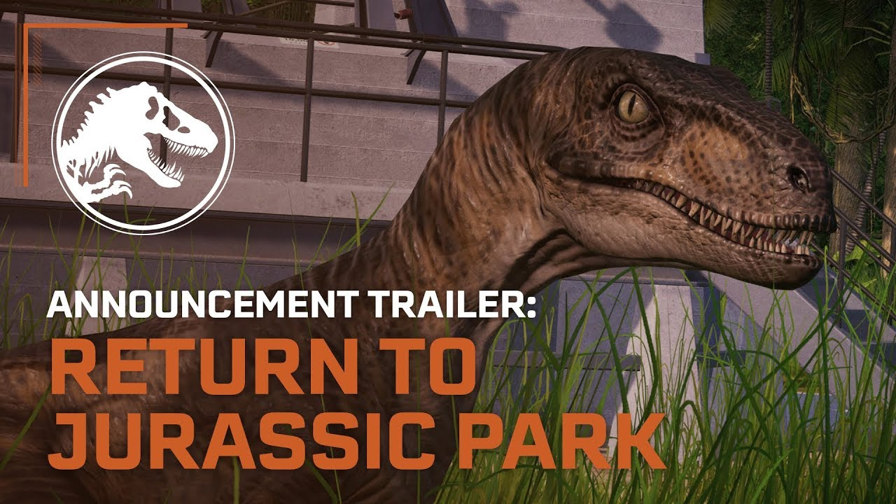 JURASSIC WORLD EVOLUTION +Return To Juras (Region Free)
