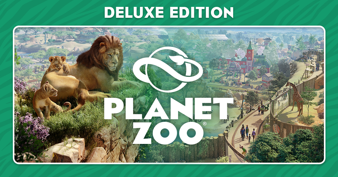 Planet Zoo Deluxe Edition+AUTO ACTIVATION🔴