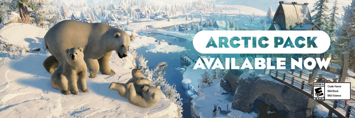 Planet Zoo Deluxe +Arctic Pack+AUTO ACTIVATION🔴