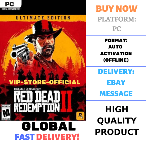 Red Dead Redemption 2+AUTOACTIVATION-Ultimate +PATCH🔴