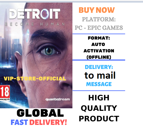 Detroit: Become Human+AUTOACTIVATION+PATCH 3.0 🔴PC