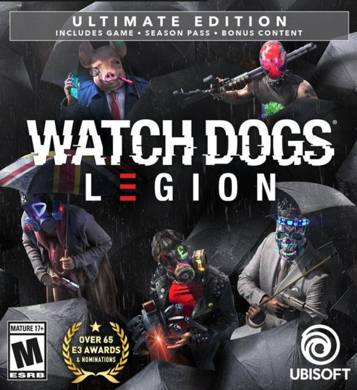 Watch Dogs: Legion+Assassin's Creed Valhalla⭐️ GLOBAL
