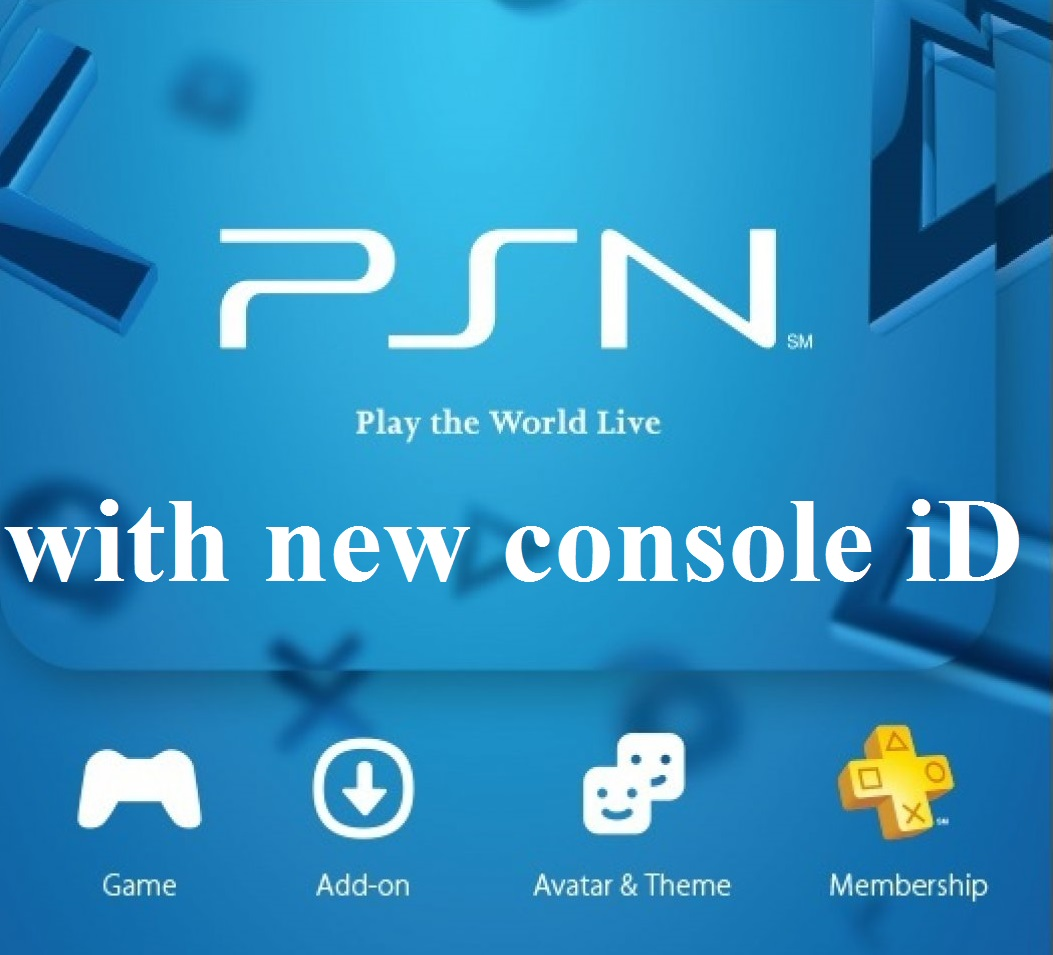 PS3 console ID IDPS CID for PS3 UNBAN PSN PRIVATE