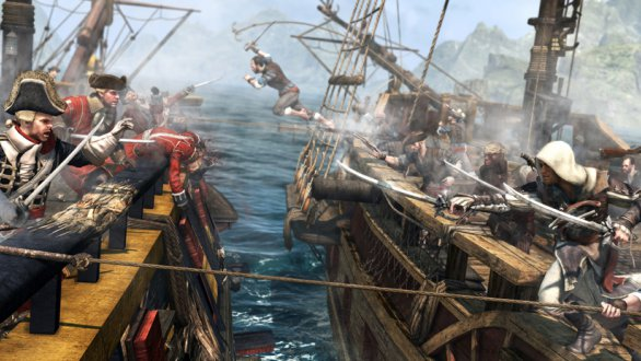 Assassin's creed iv: black flag reaches gold status on pc   gamegrin.