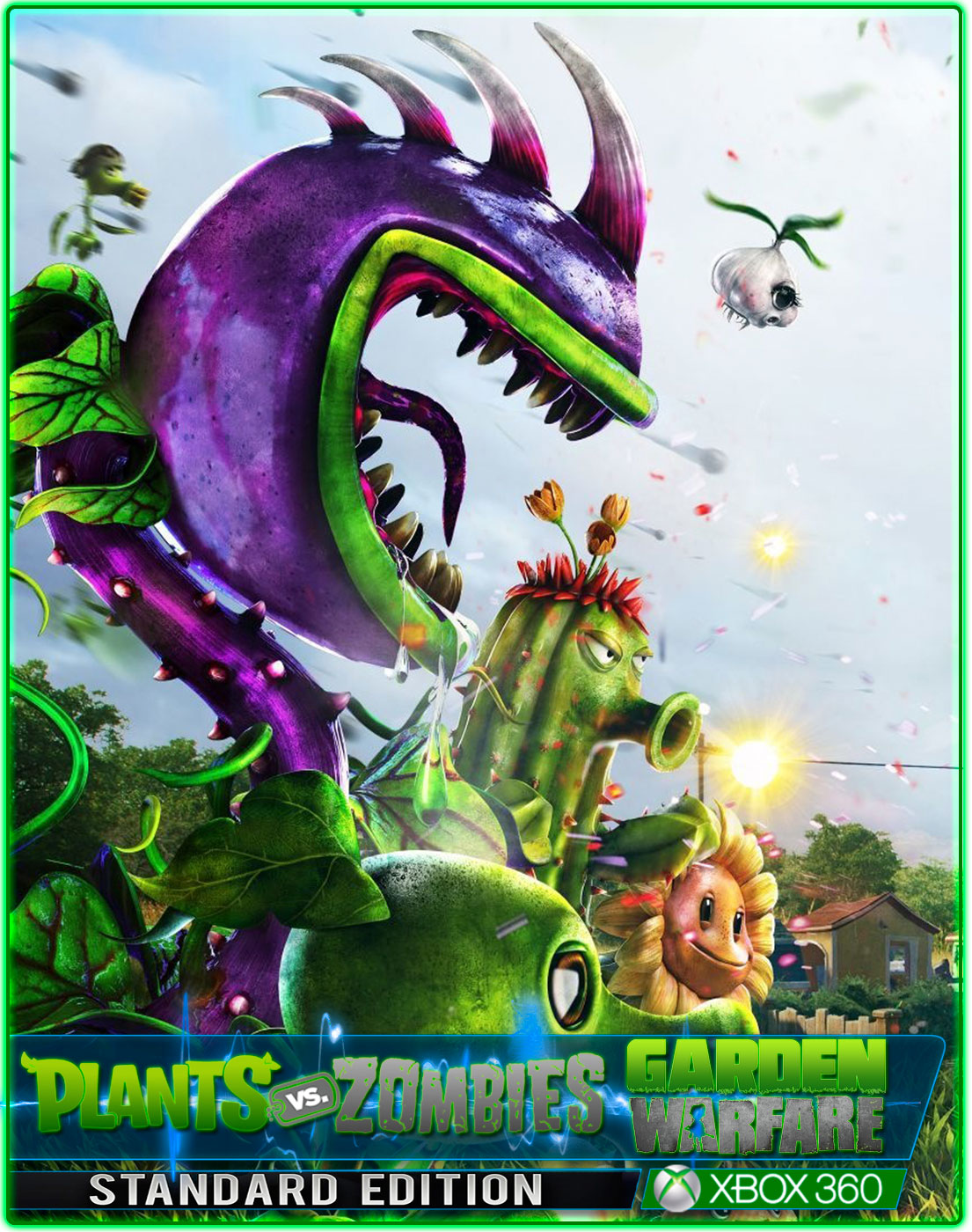 plants vs zombies garden warfare xbox 360 need gold - Plants Vs Zombies Garden Warfare Xbox 360