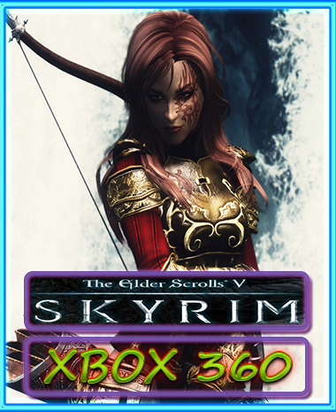 SKYRIM V THE ELDER SCROLLS (digital code) (XBOX 360)