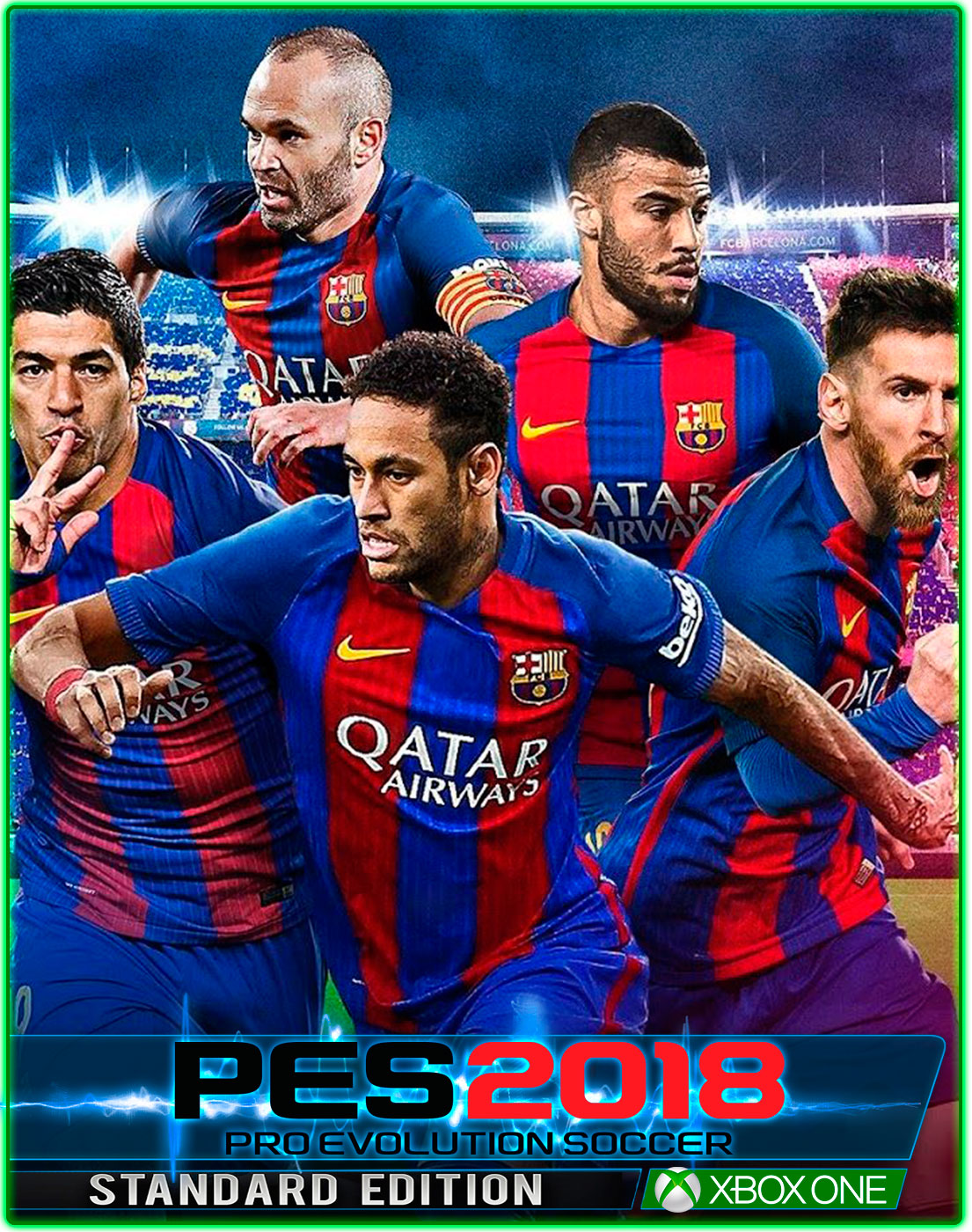 Pro Evolution Soccer 2018(XBOX ONE)