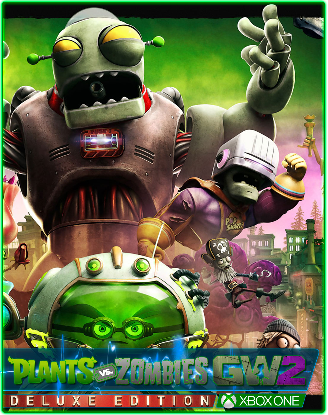 Plants vs Zombies Garden Warfare 2 Deluxe Edit(XBOX ONE