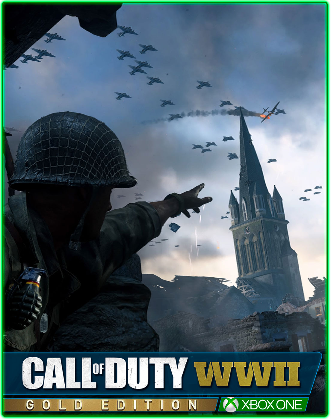 Call of Duty WWII Gold Edition(XBOX ONE)