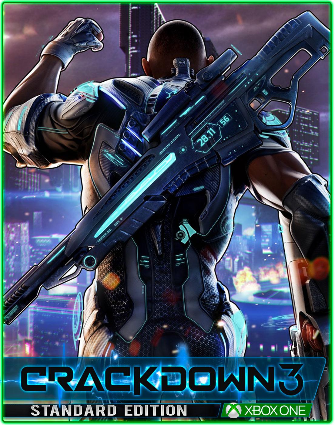 Crackdown 3(XBOX ONE) 2019