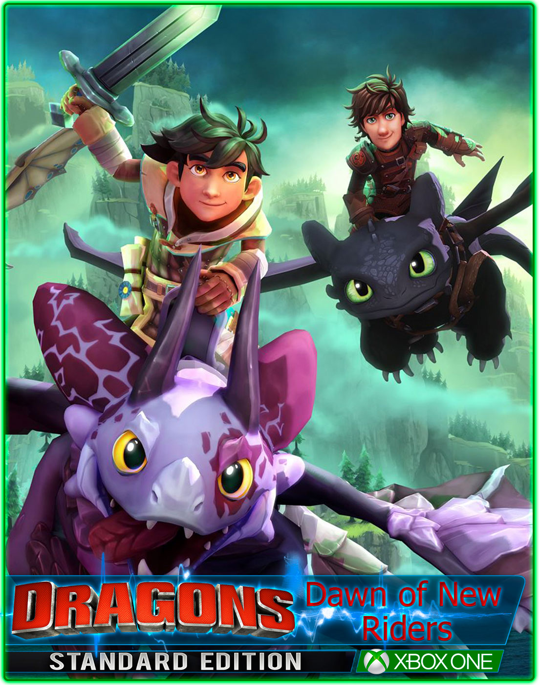 DreamWorks Dragons Dawn of New Riders(XBOX ONE) 2019