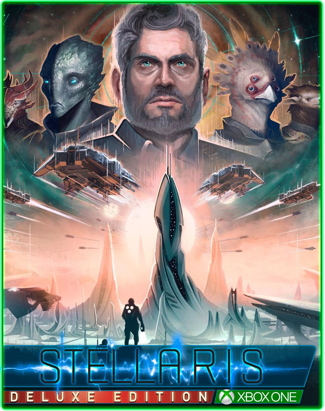 Stellaris Console Edition Deluxe Edition(XBOX ONE) 2019