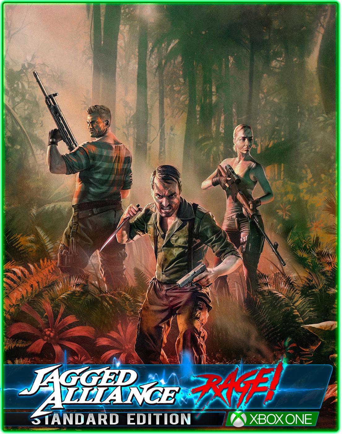 Jagged Alliance Rage(XBOX ONE) 2019