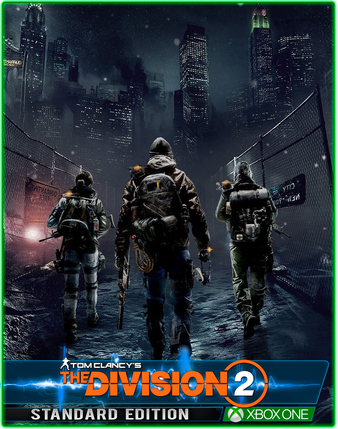Tom Clancys The Division 2(XBOX ONE) 2019