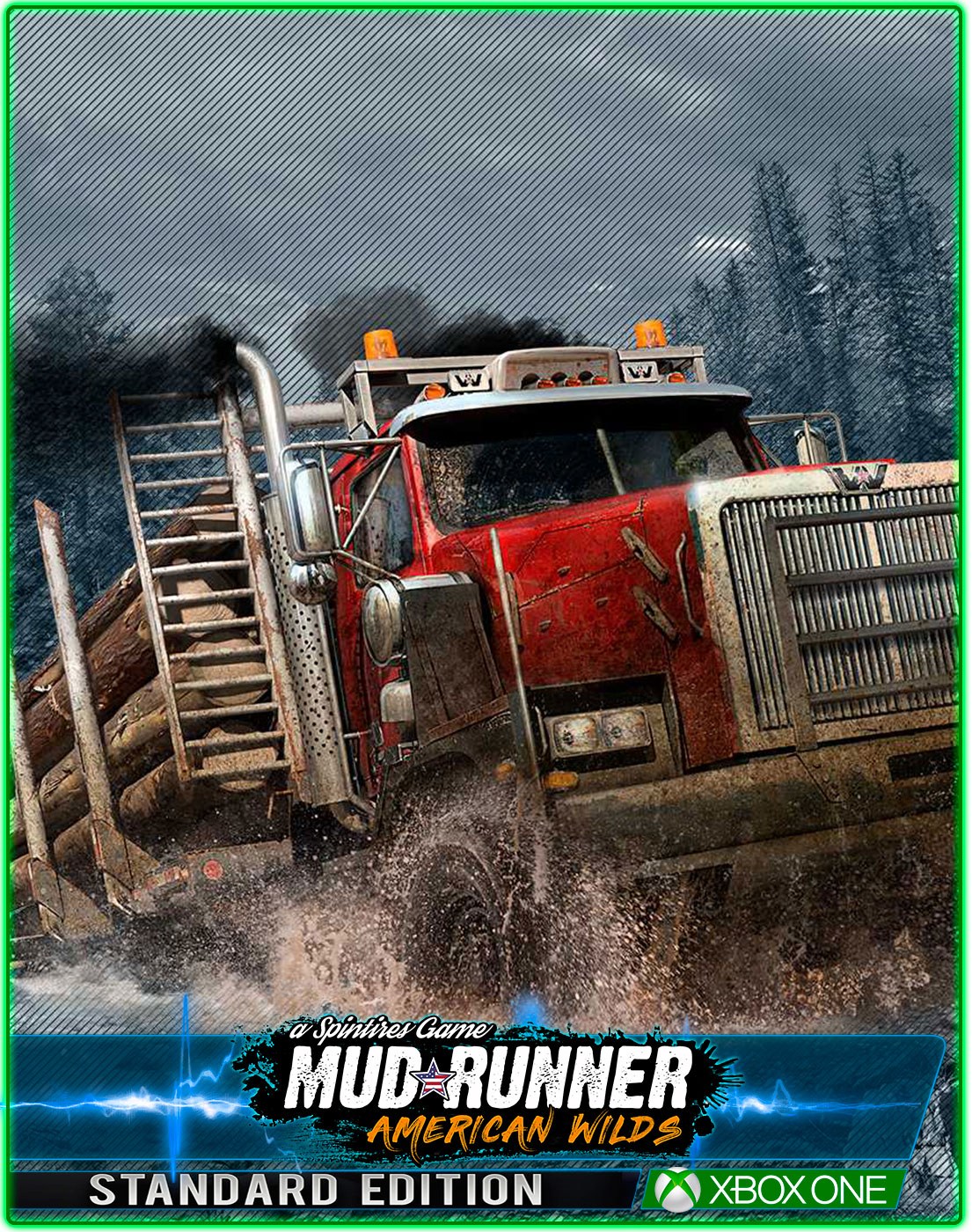 MudRunner American Wilds Edition(XBOX ONE) 2019