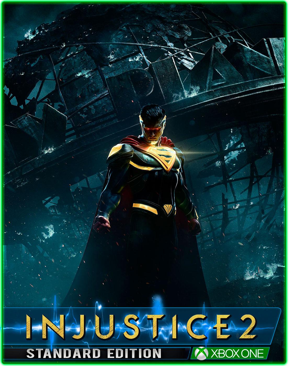 Injustice 2(Global Key+VPN XBOX ONE) 2019