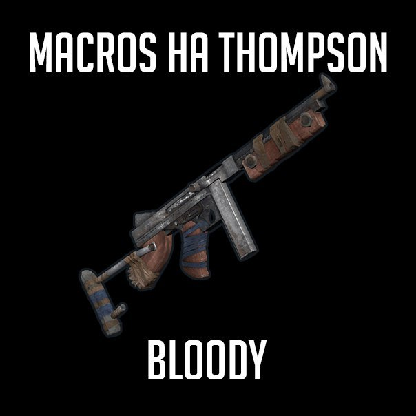 Macro on the game RUST Thompson