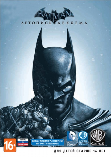 Batman: Arkham Origins (Steam) RU+CIS