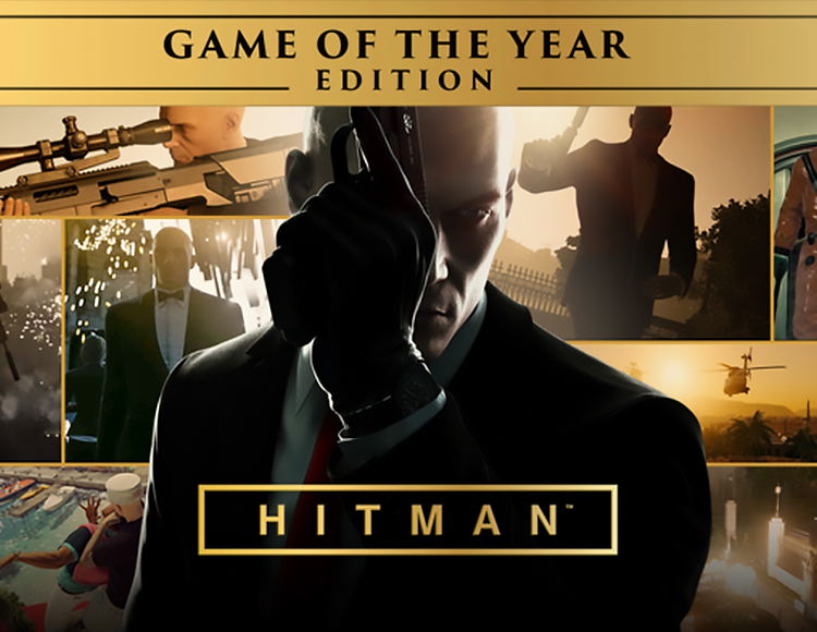 Hitman Game of the Year Edition (steam ru+gis)