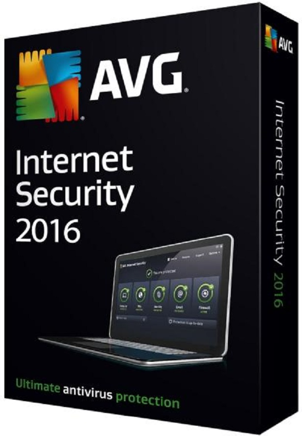 AVG Internet Security 2017  1 ПК 1год RegFree Все языки