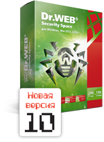 Dr.Web Security Space 1 PC 1 Year New Lic REG FREE