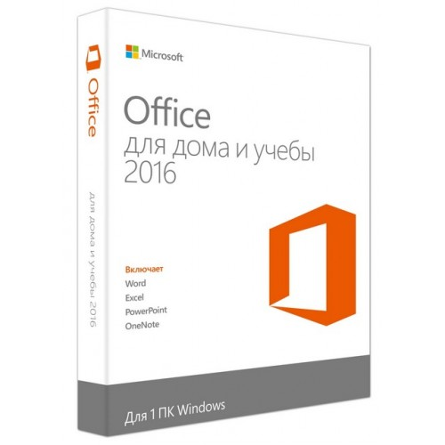 MICROSOFT OFFICE 2016 HOME STUDENT for 1 PC Windows