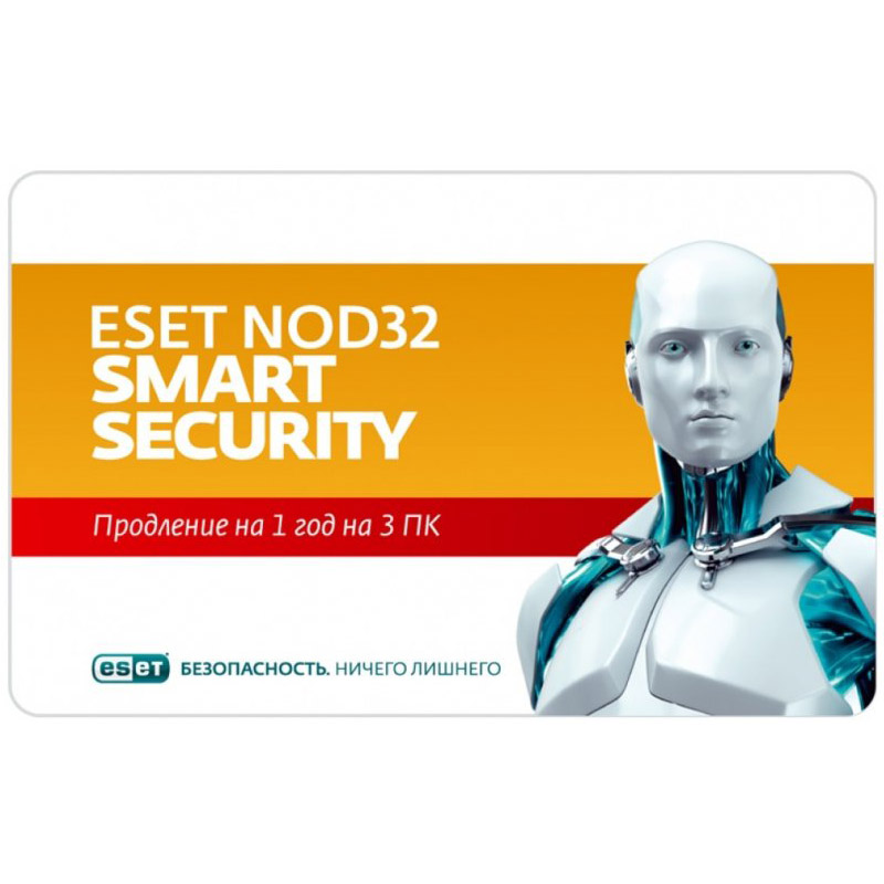 ESET NOD32 SMART SECURITY - Renewal 3 PC 1 Year