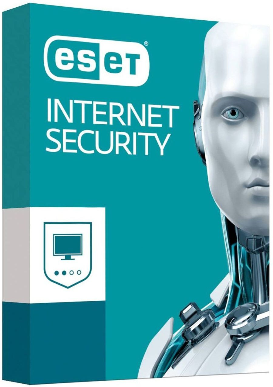 ESET NOD32 INTERNET SECURITY - 5 dev 1 year REGFREE NEW