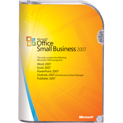 Office 2007 Small Business 1PC Europe English Reg Free