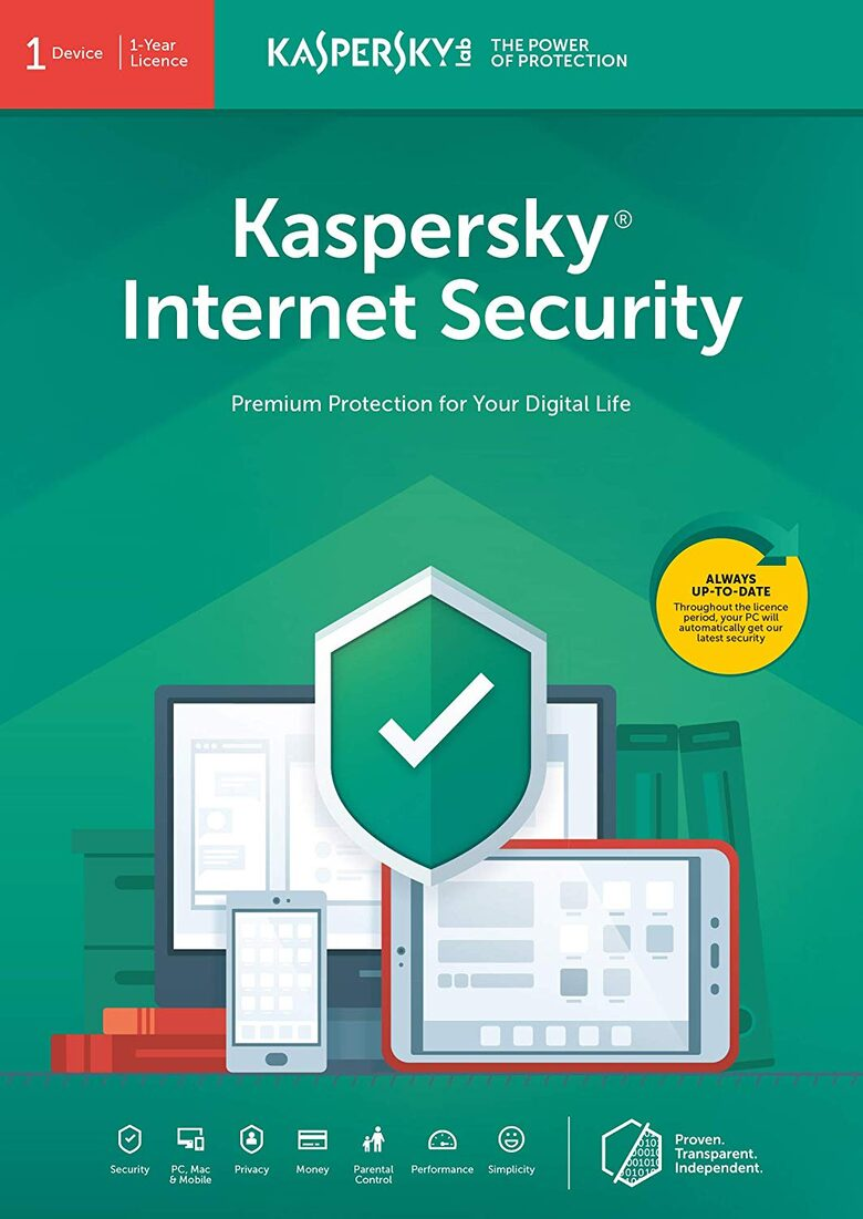 KASPERSKY INTERNET SECURITY 1 device 1 year