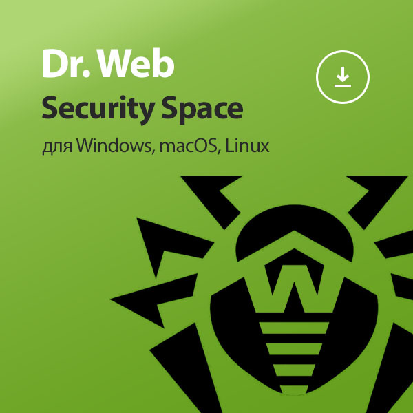Dr.Web Security Space 5 PC 3 months