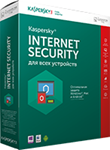 Kaspersky Internet Security 3 устройства 1год Продление