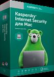 KASPERSKY INTERNET SECURITY for MAC 1 desktop 1 year