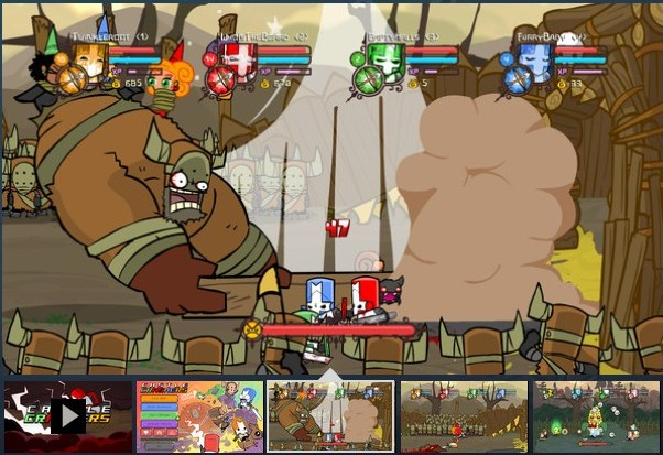 Castle Crashers  (Steam Gift RU/CIS)