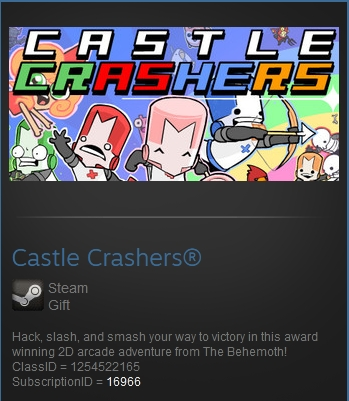 Castle Crashers® (Steam gift GLOBAL)