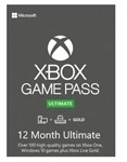 Xbox Game Pass Ultimate + EA Play 12 месяцев (Россия)