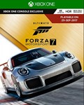 Forza Motorsport 7 Ultimate Edition (XBOX ONE /WIN10)