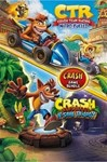 Crash Bandicoot Bundle Trilogy + CTR Nitro (XBOX ONE)