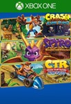 Crash + Spyro Triple Play Bundle (XBOX ONE)