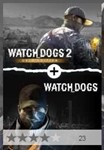 Watch Dogs 1 + Watch Dogs 2 Gold Bundle Editions (XBOX)