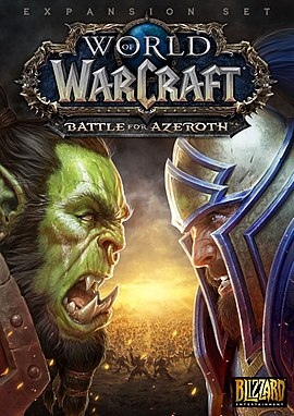 WoW BATTLE FOR AZEROTH (EU)+LVL 110 - CD KEY ЛИЦЕНЗИЯ