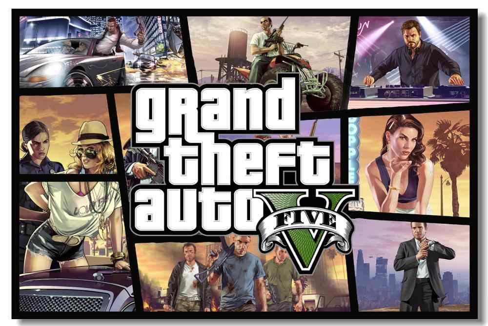 GRAND THEFT AUTO V ONLINE / PLOT / GTA 5 / EPIC GAMES