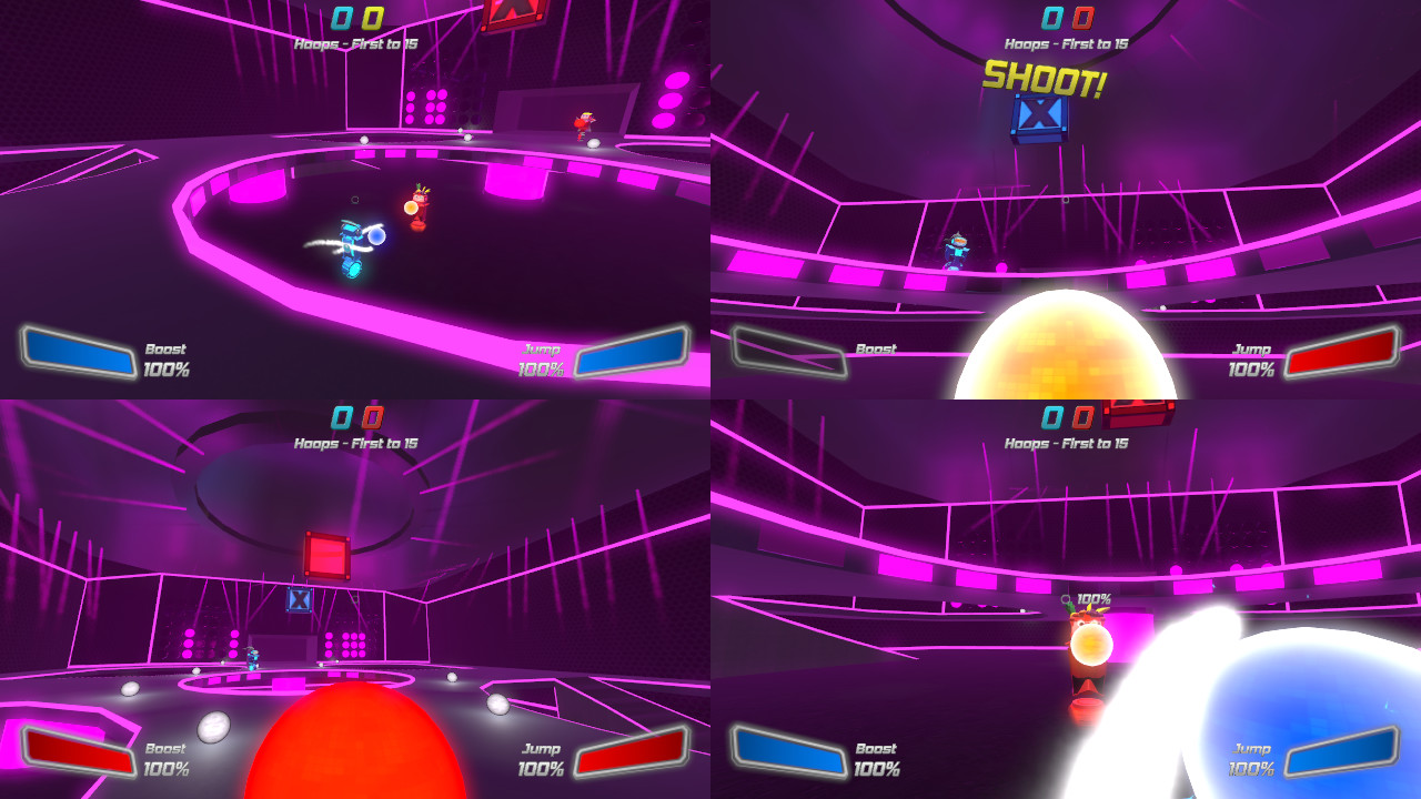 Robot Roller-Derby Disco Dodgeball (Steam)