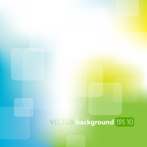 Vector image of ´abstract background green, blue ""