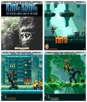 King-Kong (176x220 Java-игра) + БОНУС