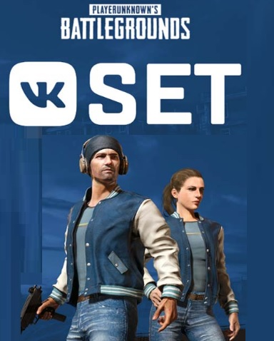 VK SET PUBG⭐ Limited BOX Region Free