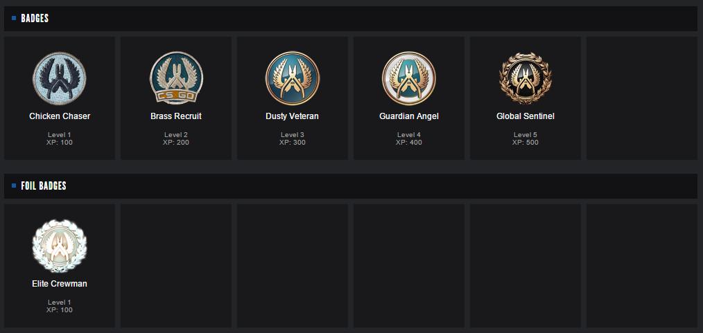 Cs go steam badges кс го чейнджер