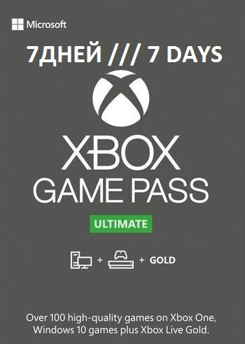 XBOX GAME PASS ULTIMATE 7 days Region free RU + EA Play